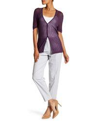 Lafayette 148 New York - Rivington Wool Blend Trousers - Lyst