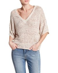 Lamade - V-neck Knit Top - Lyst