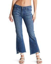Siwy - Grace Raw Hem Straight Leg Jeans - Lyst