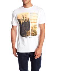 Flag & Anthem - Short Sleeve Guitar Graphic Tee - Lyst