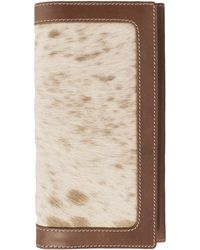 ILI - Unique Genuine Calf Hair Wallet - Lyst