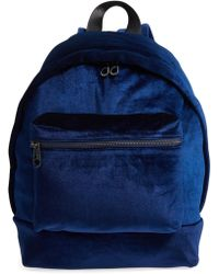 Chelsea28 - Velvet Backpack - Lyst