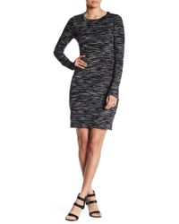 Fifteen Twenty - Textured Knit Dress - Lyst