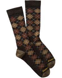 Pendleton - Argyle Wool Blend Crew Socks - Lyst