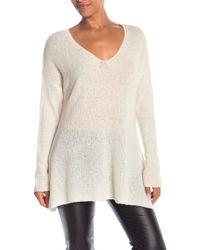 Jarbo - Cashmere Blend V-neck Sweater Pullover - Lyst