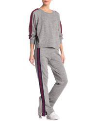 Splendid - Campside Side Stripe Sweatpants - Lyst
