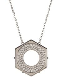 Swarovski - Bolt Crystal Pendant Necklace - Lyst