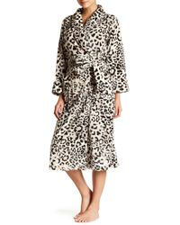 N Natori - Animal Print Robe - Lyst