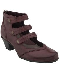 Earth - Serano Triple Mary Jane Strap Bootie - Lyst