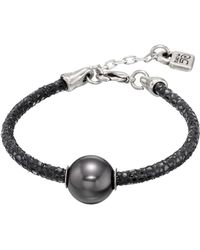 Uno De 50 - Moons Of Jupiter Simulated Pearl Bracelet - Lyst