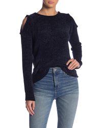 BB Dakota - Hot N' Cold Velour Sweater - Lyst