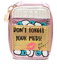 Betsey Johnson - Whimsical Pill Box & Case - Lyst