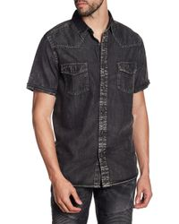 Xray Jeans - Faded Short Sleeve Slim Fit Shirt - Lyst