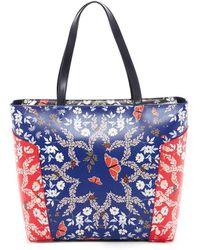 Ted Baker - Kyoto Gardens Studded Shoulder Bag - Lyst