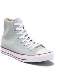 2b15d44e5ee6 Lyst - Converse Chuck Taylor All Star Street Mid-top Sneaker in Blue ...