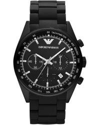 Emporio Armani - Men's Quartz Chronograph Sport Bracelet Watch, 43mm - Lyst