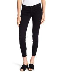 Black Orchid - Noah Ankle Frayed Hem Skinny Jeans - Lyst