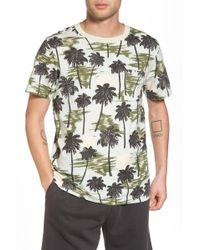Wesc - Maxwell Hawaii Print Graphic T-shirt - Lyst