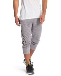 b929719843 Lyst - Nike Men s Dri-fit Stretch Woven Running Pants in Gray for Men