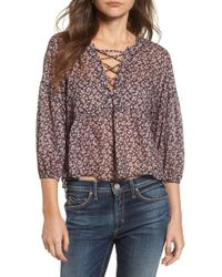 Mcguire - Lalo Woven Top - Lyst