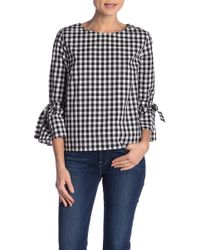 Jack BB Dakota - Seen It All Gingham Top - Lyst