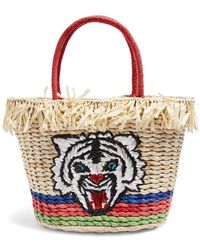 TOPSHOP - Briger Tiger Tote Bag - Lyst