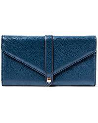 Aimee Kestenberg - Sasha Leather Trifold Wallet With Mirror - Lyst