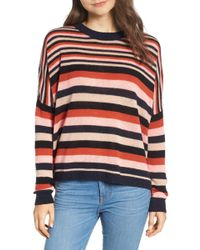 Cable amp; Lyst White Knit Scotch In Sweater Soda CqPwtFrP