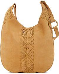 Frye - Addie Oversized Studded Leather Hobo Bag - Lyst