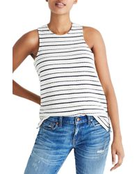 Madewell - Camille Stripe Tank - Lyst