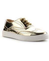 Cape Robbin | Romy Wingtip Oxford Sneaker | Lyst