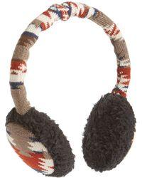 Pendleton - Merino Wool Ear Muffs - Lyst