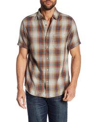 Jeremiah - Badlands Print Reversible Shirt - Lyst