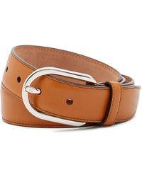 Bally - Greywall Biscuir Calf Leather Belt - Lyst