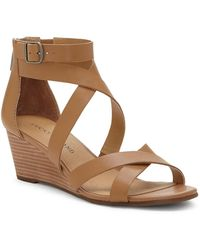 Lucky Brand - Jinela Wedge Sandal - Lyst