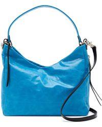 Hobo - Delilah Leather Shoulder Bag - Lyst
