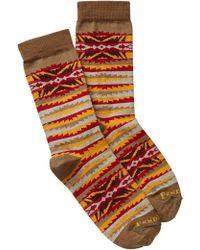 Pendleton - Lahaina Wave Crew Socks - Lyst