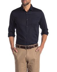 Good Man Brand - Pin Dot Slim Fit Shirt - Lyst