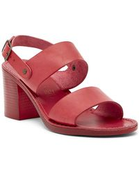 Seychelles - State Of Mind Block Heel Leather Sandal - Lyst