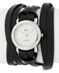La Mer Collections - Women's Silver Saturn Wrap Watch - Lyst