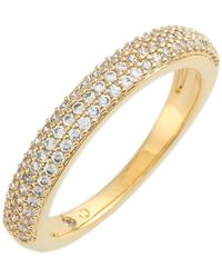 Nadri - Stackable Pave Cubic Zirconia Ring - Lyst