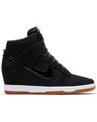 7220357f5151 Lyst - Nike Dunk Sky Hi - Nike Dunk Sky Hi Sneakers