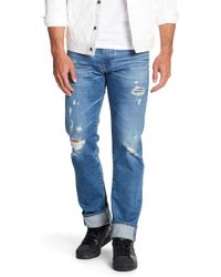 AG Jeans - Matchbox Slim Fit Jeans - Lyst