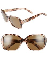 71bc567658 Lyst - Kate Spade New York  circe  59mm Metal Aviator Sunglasses in ...