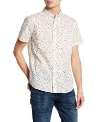 AG Jeans - Polka Dot Standard Fit Shirt - Lyst