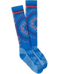 Smartwool - Ski Medium Cushion Pattern Knee High Socks - Lyst