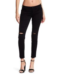 Siwy - Hannah Distressed Stretch Skinny Jeans - Lyst