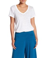 Threads For Thought - Vintage Wash V-neck Tee - Lyst