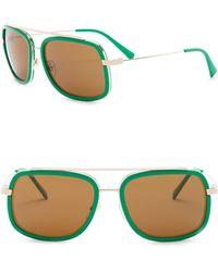 Versace - Women's 60mm Square Pop Chic Sunglasses - Lyst