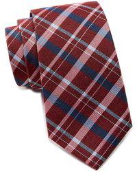 Ben Sherman - Kensleigh Plaid Silk Tie - Lyst